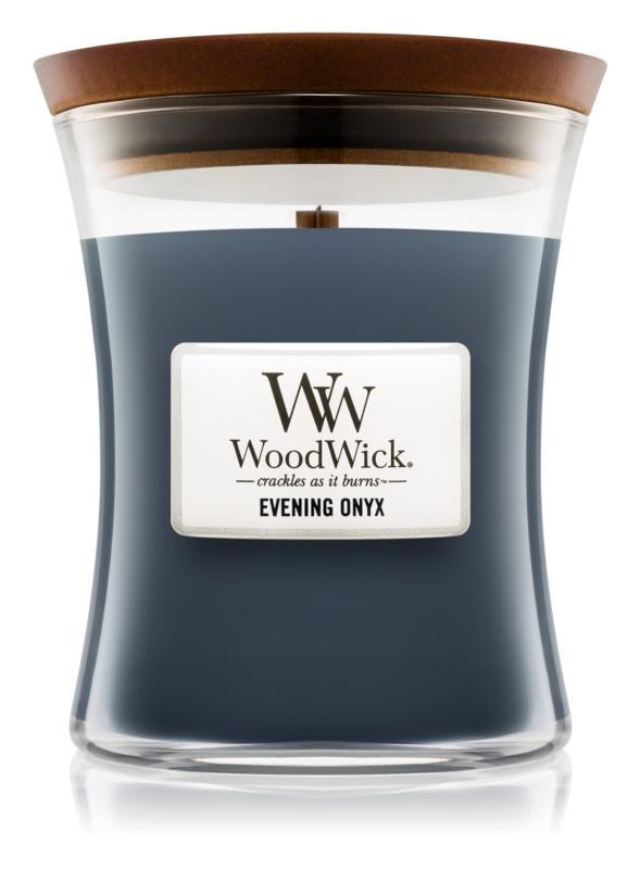 Woodwick Evening Onyx vonná svíčka 284 g