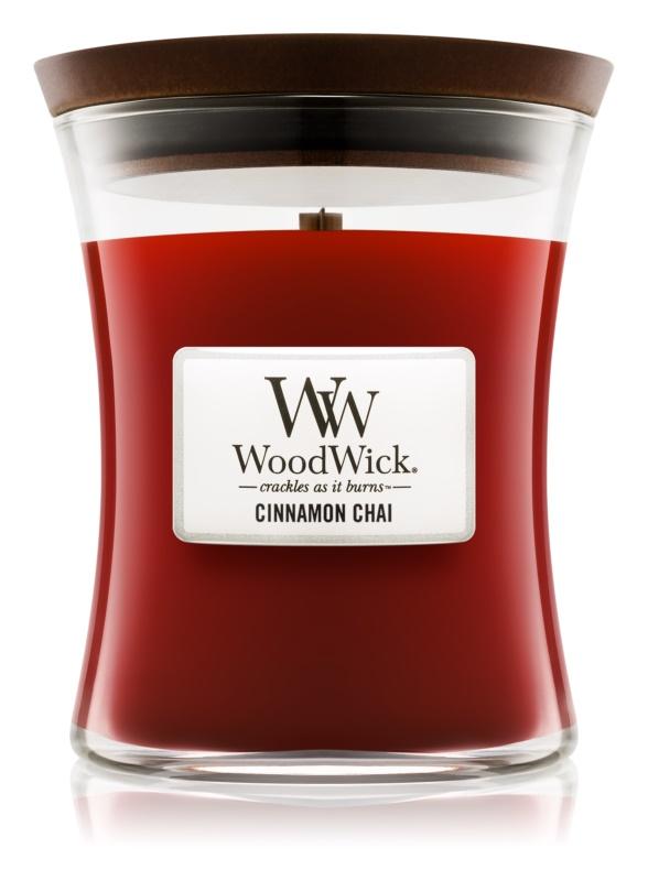 Woodwick Cinnamon Chai Scented Candle 275 g Medium