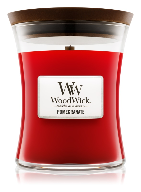 Woodwick Pomegranate Scented Candle 275 g Medium