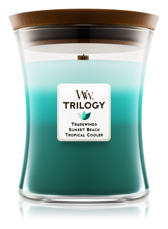 Woodwick Trilogy Ocean Escape Scented Candle 275 g Medium