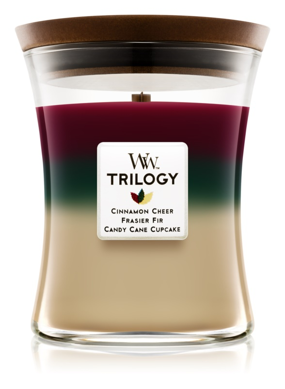 Woodwick Trilogy Christmas Classic Scented Candle 275 g Medium