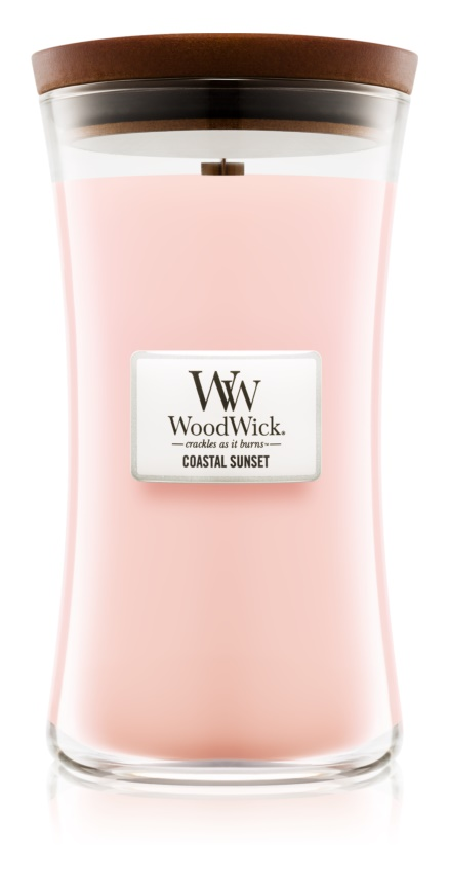Woodwick Coastal Sunset vela perfumada  609,5 g grande