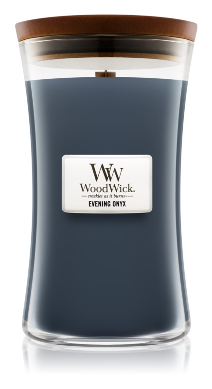 Woodwick Evening Onyx Scented Candle 609,5 g Large