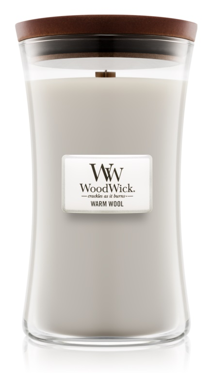 Woodwick Warm Wool Scented Candle 609,5 g Large