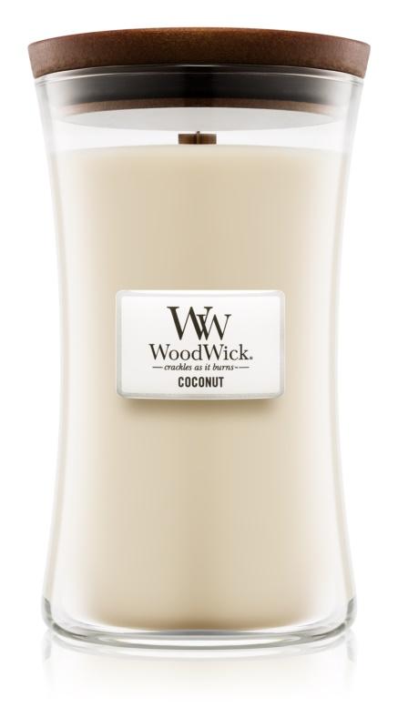Woodwick Coconut świeczka zapachowa  609,5 g duża