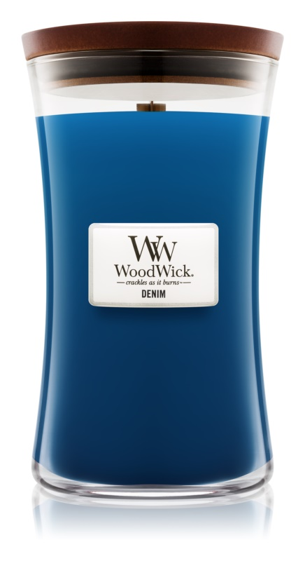 Woodwick Denim Scented Candle 609,5 g Large