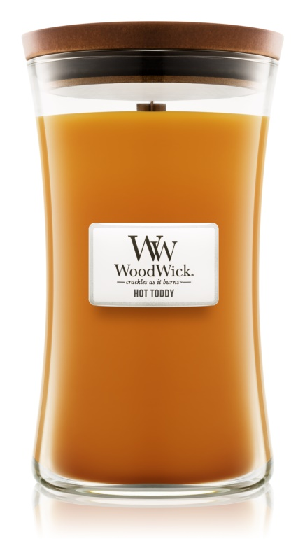 Woodwick Hot Toddy candela profumata 609,5 g grande
