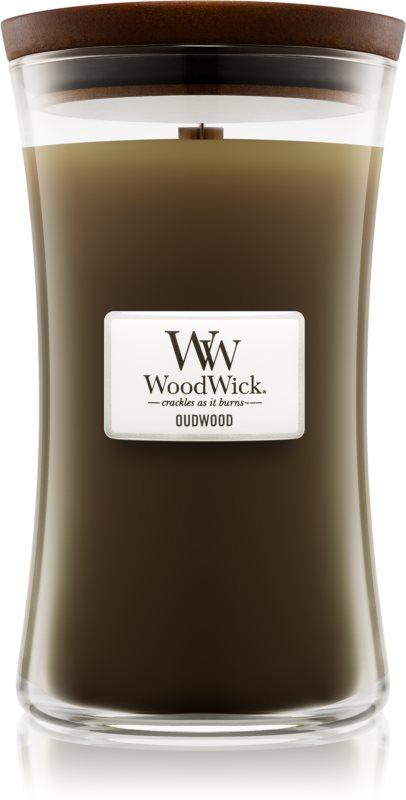 Woodwick Oudwood świeczka zapachowa  609,5 g duża