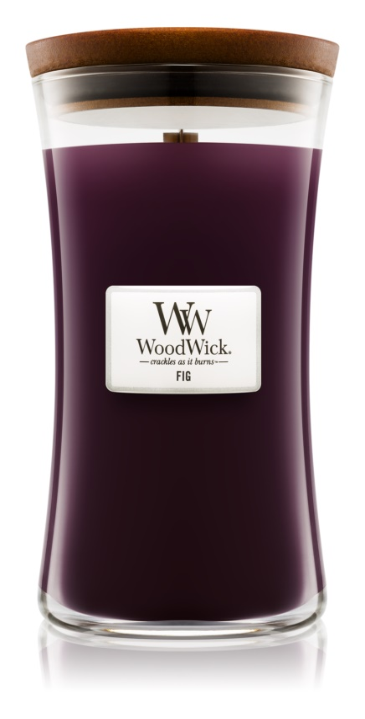 Woodwick Fig ароматна свещ  609,5 гр. голяма