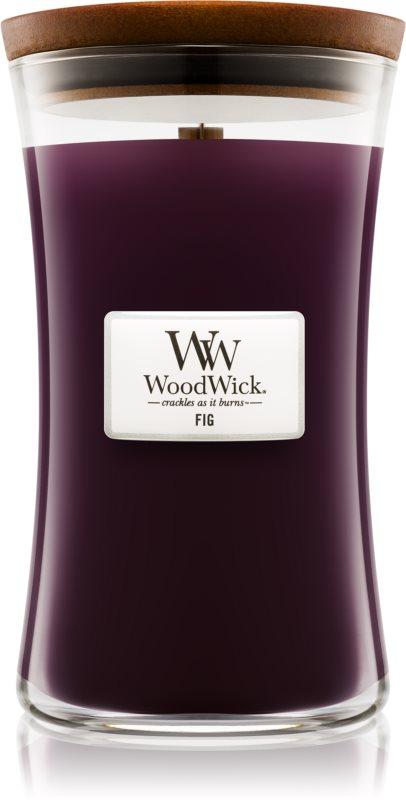 Woodwick Fig dišeča sveča  609,5 g velika