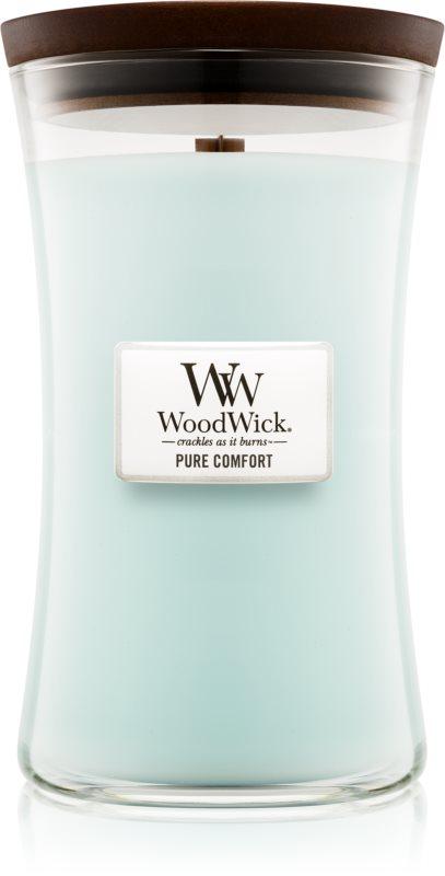 Woodwick Pure Comfort vonná svíčka 609,5 g velká