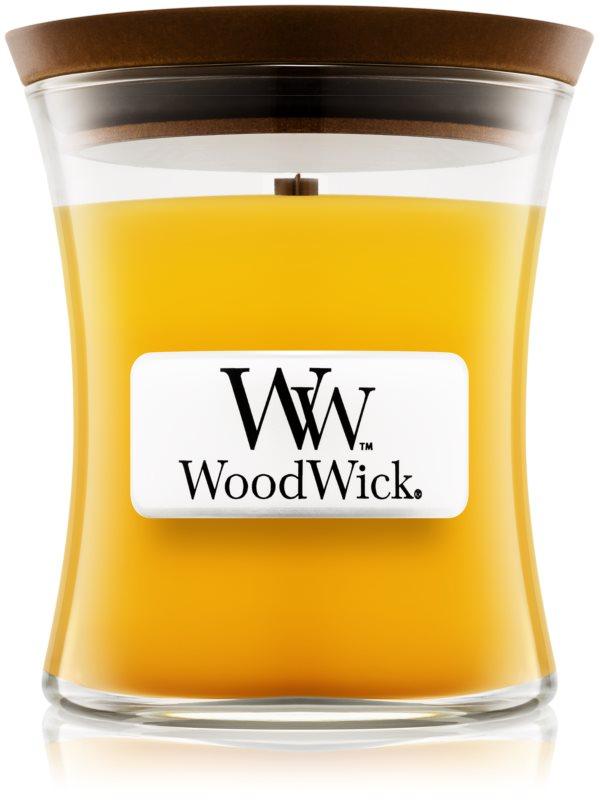 Woodwick Pineapple bougie parfumée 85 g avec mèche en bois