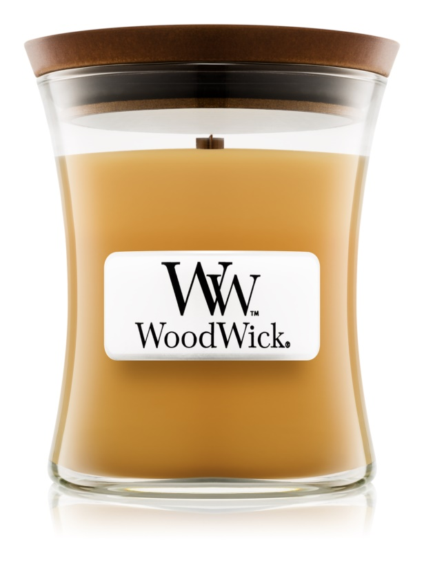 Woodwick Beach Boardwalk bougie parfumée 85 g petite