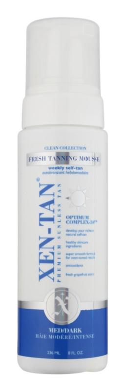 Xen-Tan Clean Collection Zelfbruinende Schuim  voor Lichaam en Gezicht