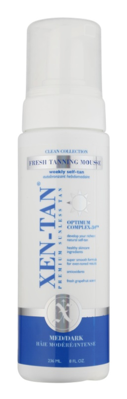 Xen-Tan Clean Collection мус для автозасмаги для тіла та обличчя