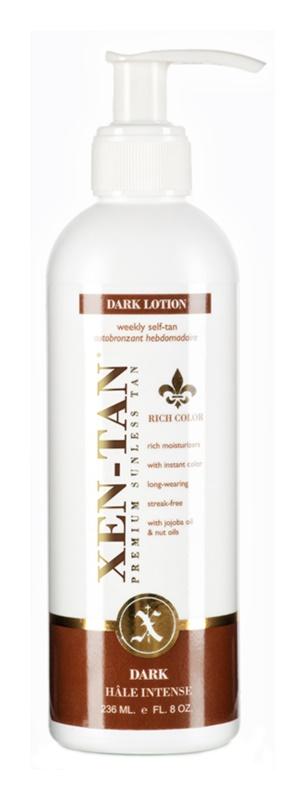 Xen-Tan Dark samoopalovacie mlieko na telo a tvár