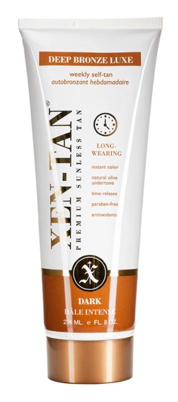 Xen-Tan Dark Tan молочко для автозасмаги для тіла та обличчя з релаксуючим ефектом