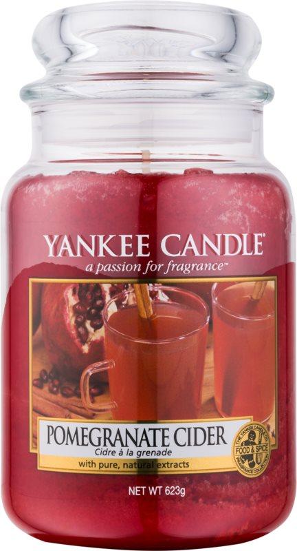 Yankee Candle Pomergranate Cider świeczka zapachowa  623 g Classic duża