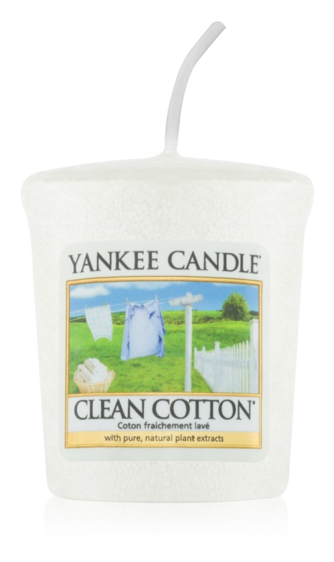 Yankee Candle Clean Cotton вотивна свещ 49 гр.
