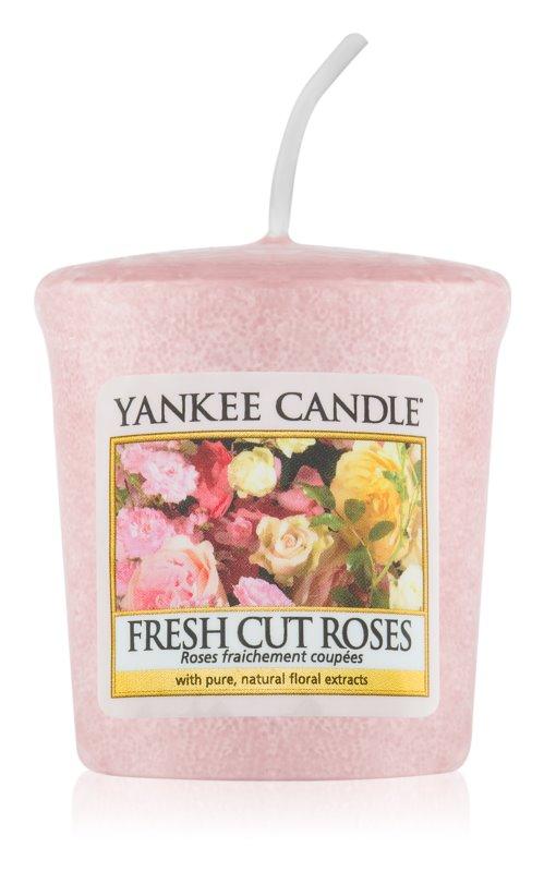 Yankee Candle Fresh Cut Roses vela votiva 49 g