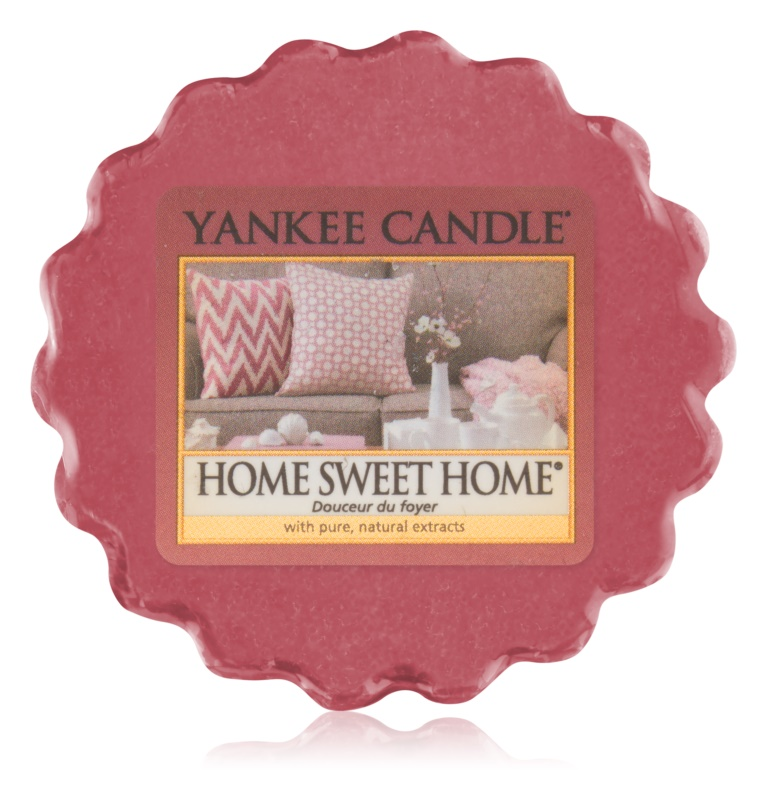 Yankee Candle Home Sweet Home Duftwachs für Aromalampe 22 g