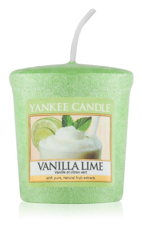Yankee Candle Vanilla Lime Αναθυματικό κερί 49 γρ