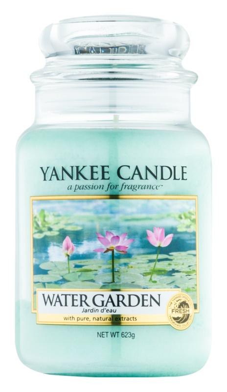 Yankee Candle Water Garden candela profumata 623 g Classic grande