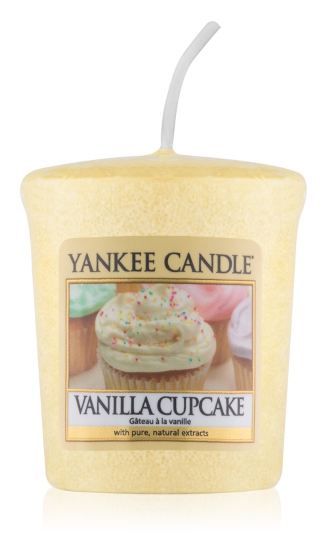 Yankee Candle Vanilla Cupcake вотивна свічка 49 гр