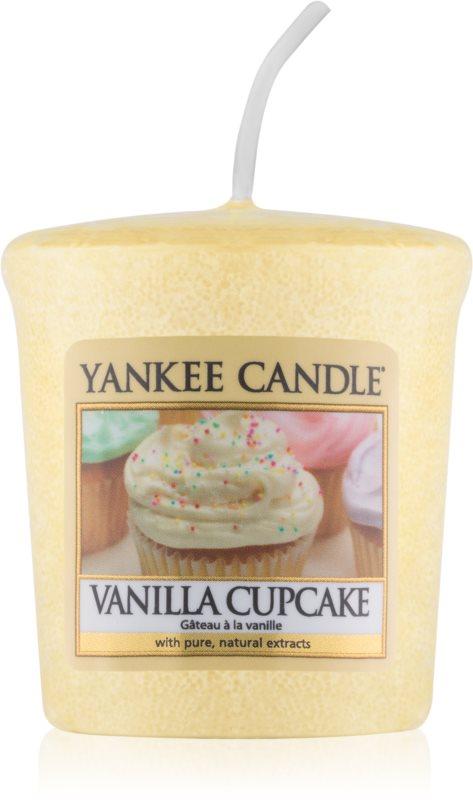 Yankee Candle Vanilla Cupcake lumânare votiv 49 g