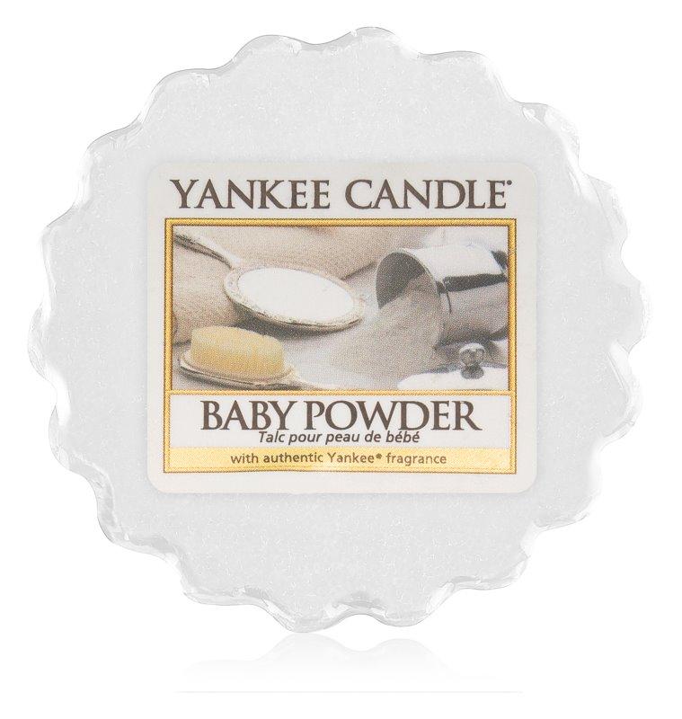Yankee Candle Baby Powder cera derretida aromatizante 22 g