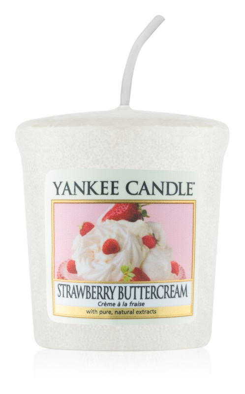 Yankee Candle Strawberry Buttercream lumânare votiv 49 g
