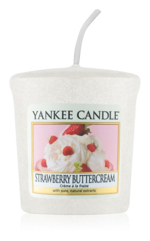 Yankee Candle Strawberry Buttercream votivna sveča 49 g