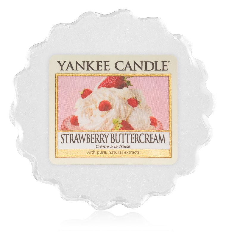 Yankee Candle Strawberry Buttercream Wax Melt 22 gr