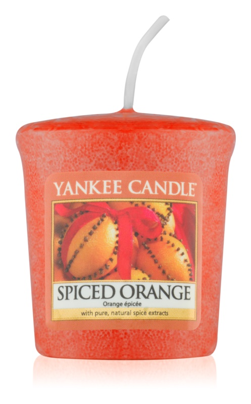 Yankee Candle Spiced Orange votívna sviečka 49 g
