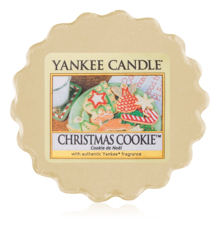 Yankee Candle Christmas Cookie tartelette en cire 22 g