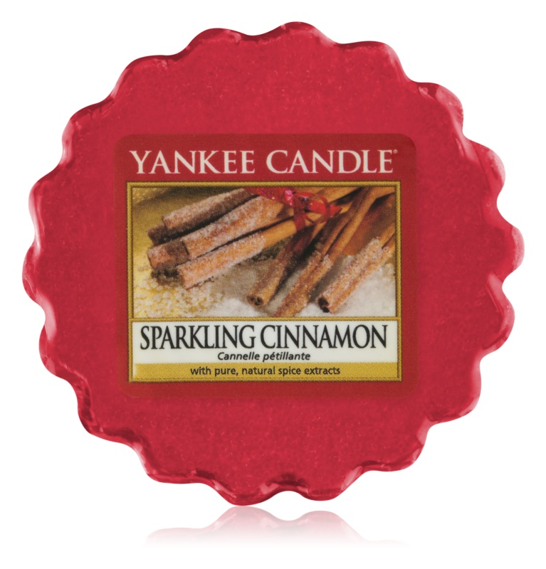 Yankee Candle Sparkling Cinnamon wosk zapachowy 22 g