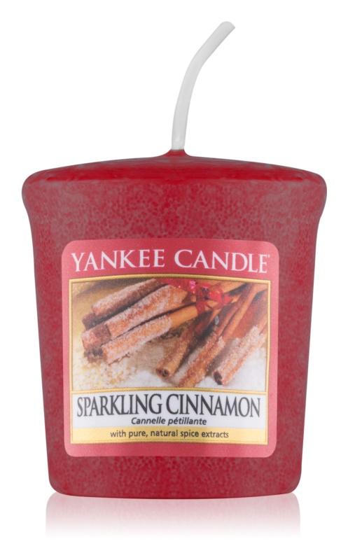 Yankee Candle Sparkling Cinnamon votívna sviečka 49 g