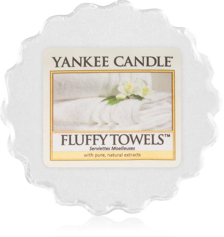 Yankee Candle Fluffy Towels Duftwachs für Aromalampe 22 g