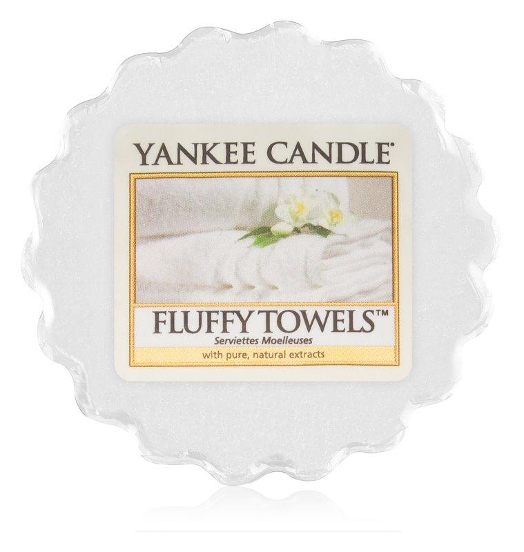 Yankee Candle Fluffy Towels tartelette en cire 22 g