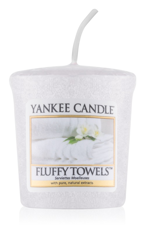 Yankee Candle Fluffy Towels bougie votive 49 g
