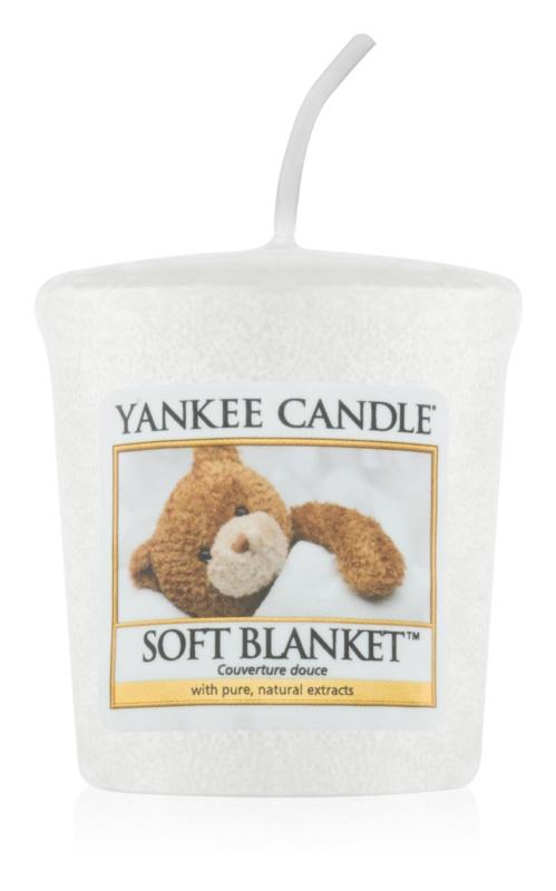 Yankee Candle Soft Blanket вотивна свічка 49 гр