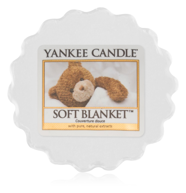 Yankee Candle Soft Blanket віск для аромалампи 22 гр