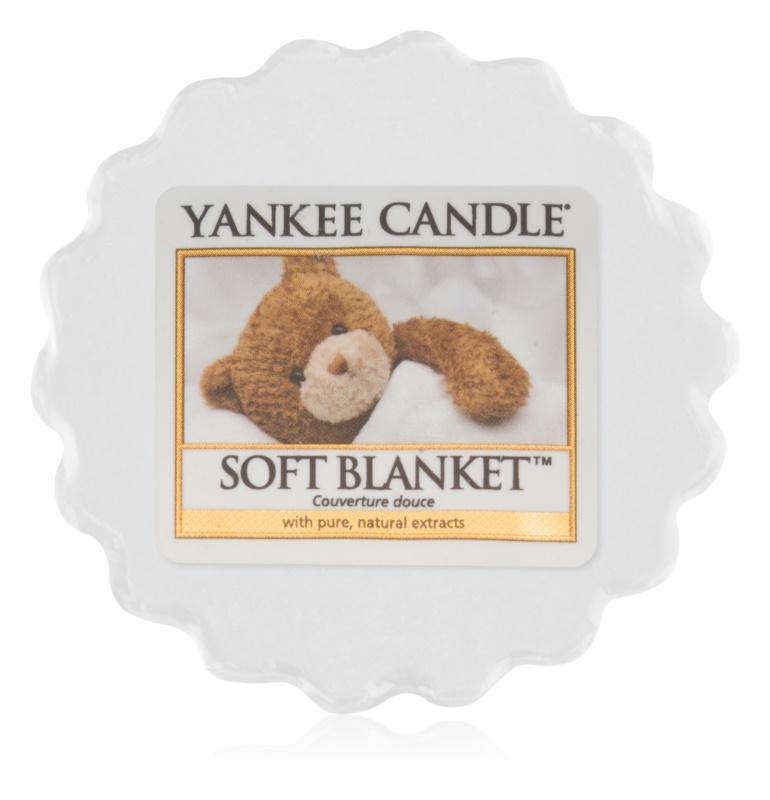 Yankee Candle Soft Blanket illatos viasz aromalámpába 22 g