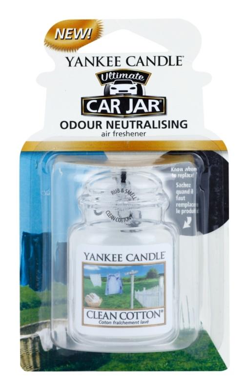 Yankee Candle Clean Cotton vůně do auta   závěsná