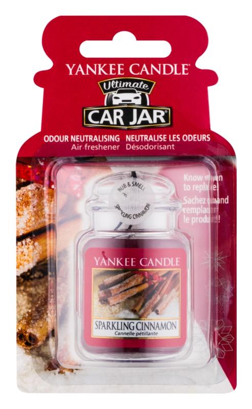Yankee Candle Sparkling Cinnamon odświeżacz do samochodu