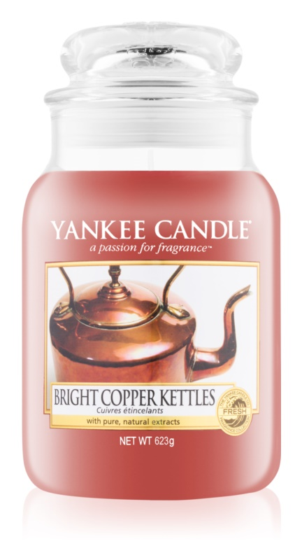 Yankee Candle Bright Copper Kettle vela perfumado 623 g Classic grande