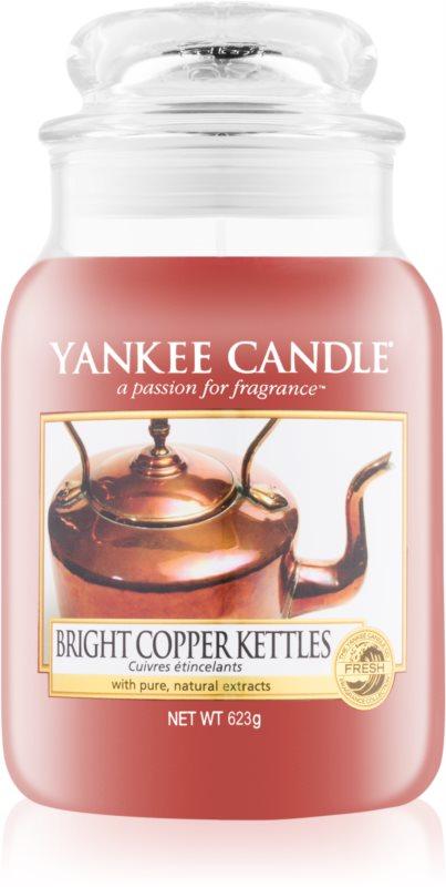 Yankee Candle Bright Copper Kettle vonná sviečka 623 g Classic veľká