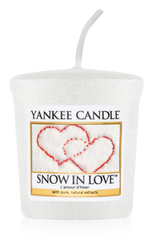 Yankee Candle Snow in Love Votive Candle 49 g