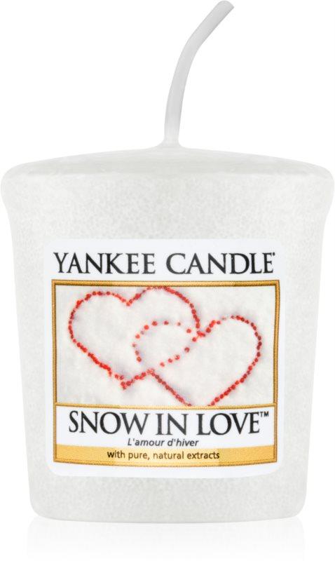 Yankee Candle Snow in Love Votivkerze 49 g