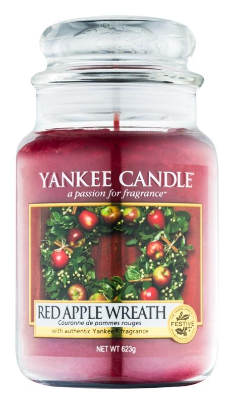 Yankee Candle Red Apple Wreath illatos gyertya  623 g Classic nagy méret